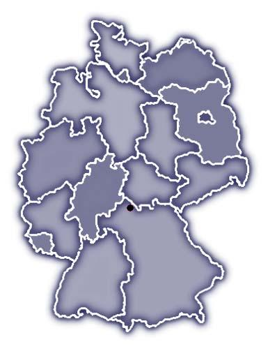 Lage von Eyershausen in Deutschland