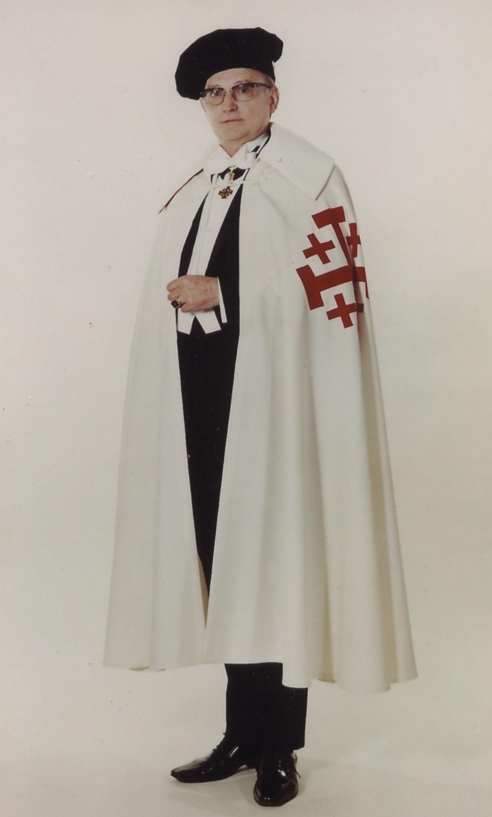 Bernhard Halbig in Robe